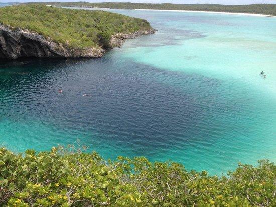 Dean's Blue Hole - Long Island Simona Yaminah Ben-Chenni