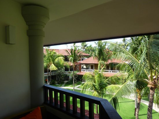 Holiday Inn Resort Baruna Bali: View from our 1 bedroom suite, floor 2