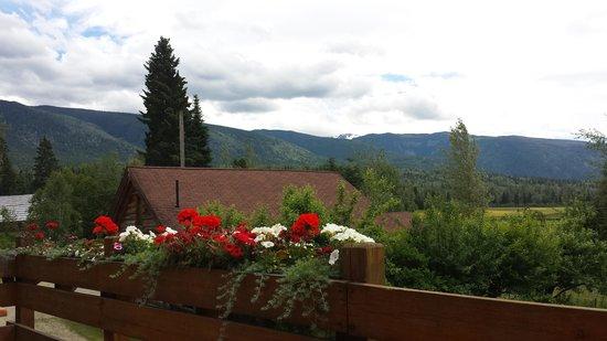 Nakiska Ranch: The view
