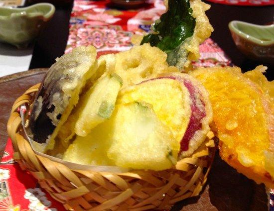 Kanazawa Tamazushi, Sohonten: 加賀野菜天ぷら