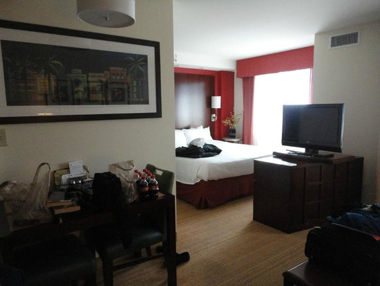 Residence Inn by Marriott Miami Airport: Bedroom - extra comfy too!