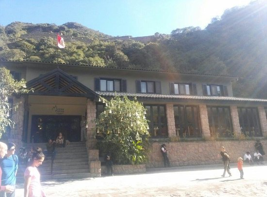 Tinkuy Buffet Restaurant at Sanctuary Lodge: Entrada do restaurante