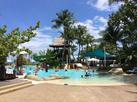 Shangri-La's Rasa Ria Resort & Spa: one of the pools