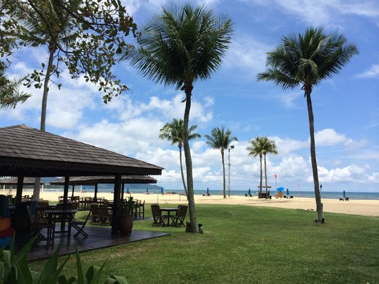 Shangri-La's Rasa Ria Resort & Spa: beach
