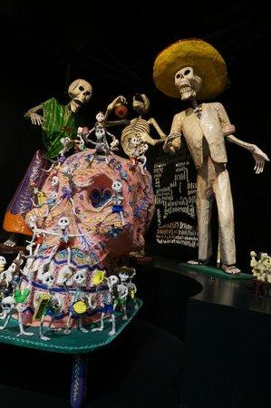 Museo de Arte Popular: skeletons