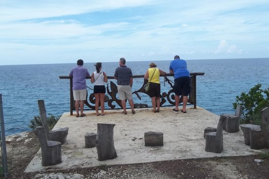 Clifton Heritage National Park: Enjoying the view!