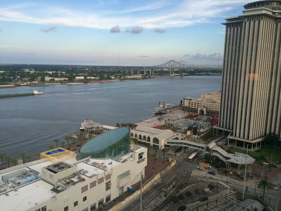 The Westin New Orleans Canal Place: View of the river