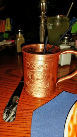 The Yankee Rebel Tavern: Moscow mule.  Try this if you like vodka drinks.  Very tasty!
