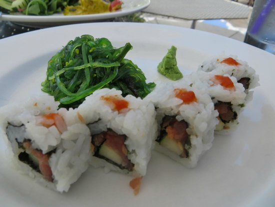 Beaches Turks & Caicos Resort Villages & Spa: Sushi at Bayside