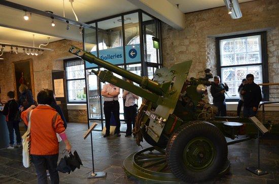 Edinburgh Castle: Exhibición de los museos