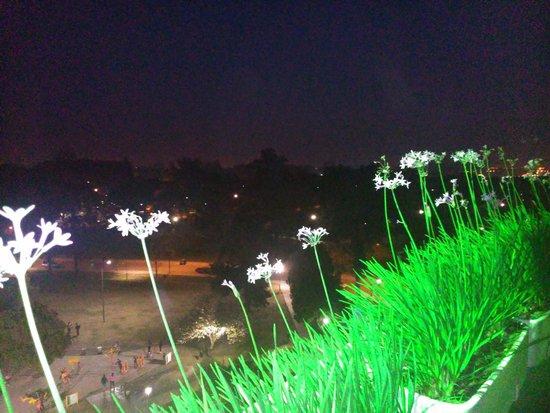 Garden Park Hotel : Vista nocturna