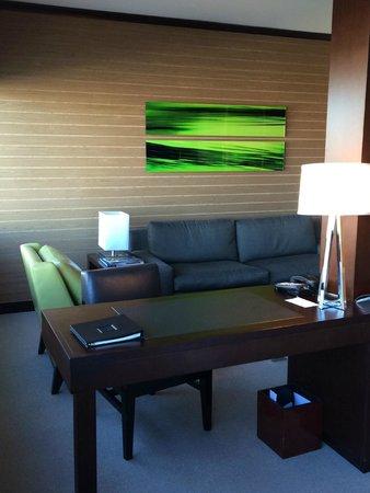 Vdara Hotel & Spa : Living area