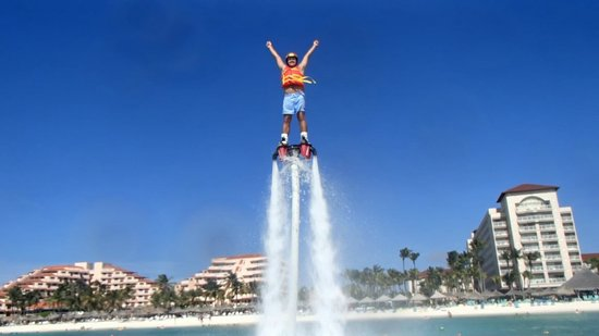 Hyatt Regency Aruba Resort And Casino Flyboard On The Beach