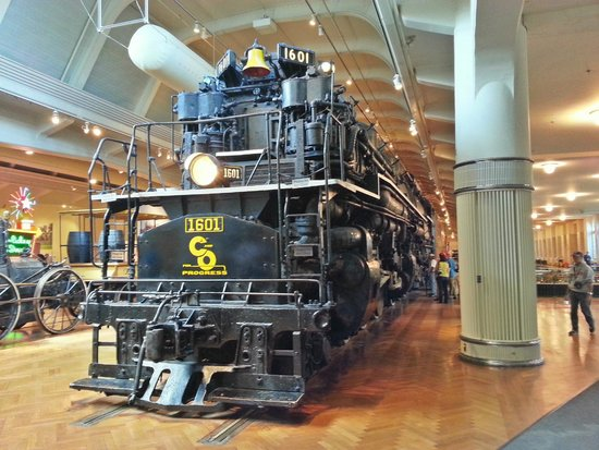 Henry-Ford-Museum: Allegheny Locomotive