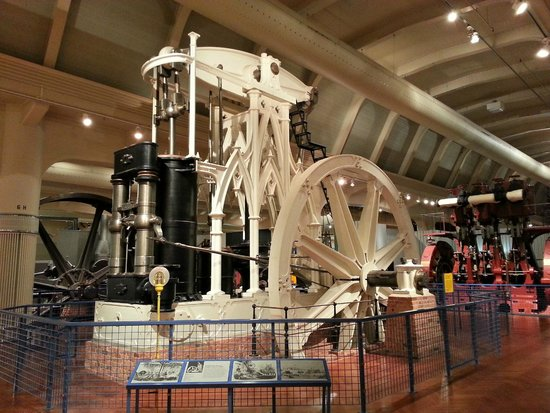 Henry-Ford-Museum: Gothic Steam Engine