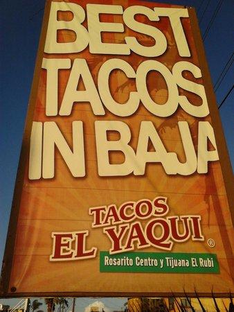 Tacos El Yaqui: El Yaqui tacos