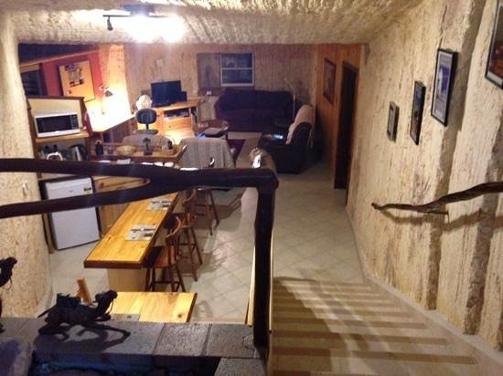 Down to Erth B &B: The living area
