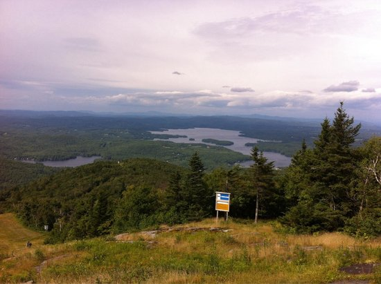 Mount Sunapee State Park and Ski Area: Great View of Lake Sunapee from the summit