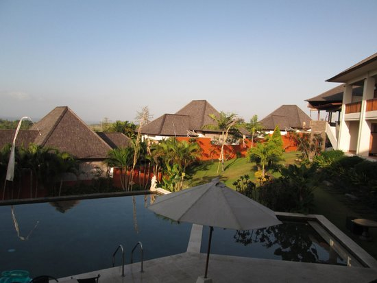 Sahaja Sawah Resort: The view from the Sawah Villa