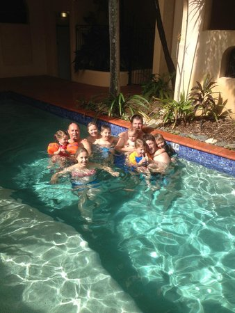 Villa San Michele: Grandkids were also in Port Douglas, enjoyed swim @ Villa