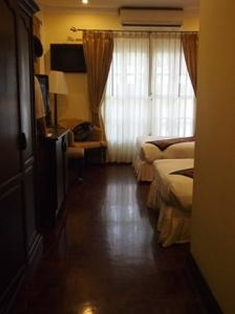 Villa Santi Hotel : Deluxe room