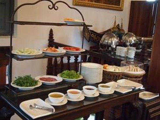 Villa Santi Hotel : Breakfast