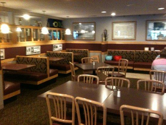 Golden Spike Restaurant : Part of interior dining area