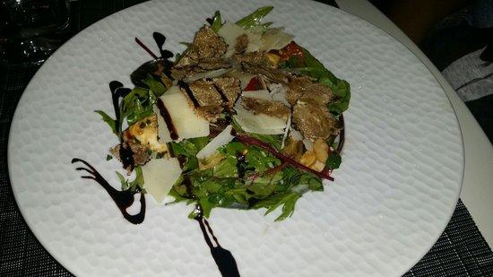 Le Boudoir: Salade d'artichauts