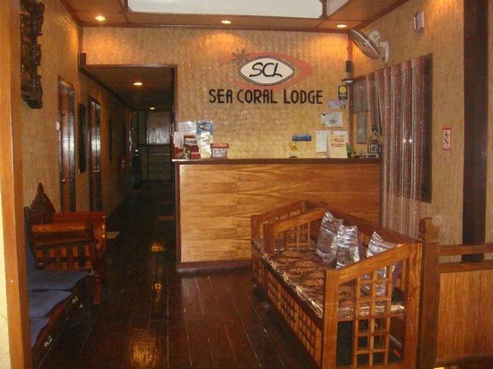 Sea Coral Lodge : Reception