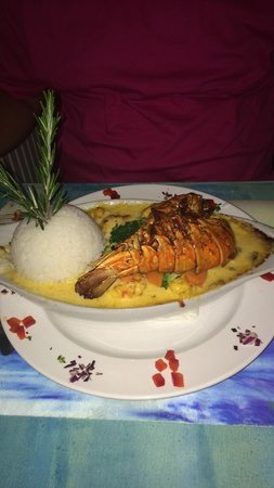 The Blue Lobster: Lobster Thermidor