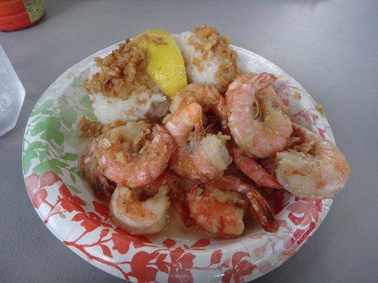 Giovanni's Shrimp Truck: 味付けはGOOD