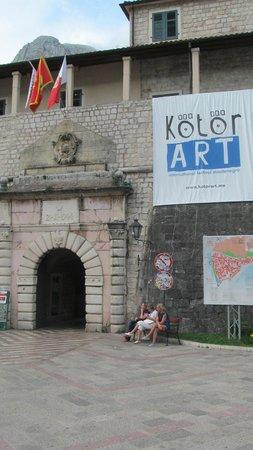 Kotor Old City: Морские ворота