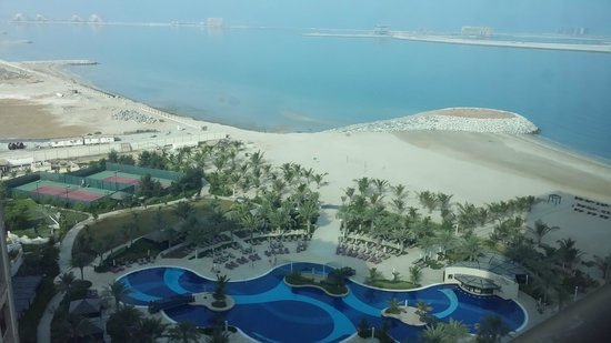Waldorf Astoria Ras Al Khaimah: View from Room