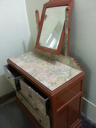 Cecil Hotel: only furniture in room