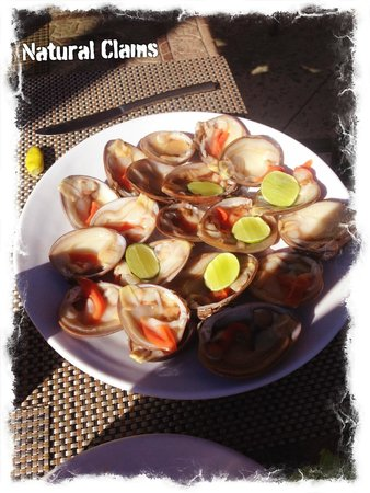 Villa del Palmar Beach Resort & Spa at The Islands of Loreto : Fresh Clams with lime and tabasco