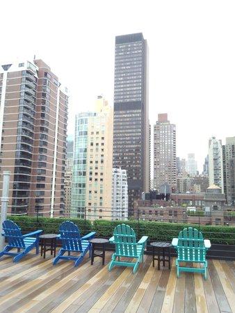 Pod 51 Hotel: 屋上からの眺め