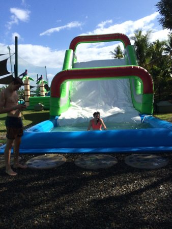 Big Bula Water Park: The race course slide