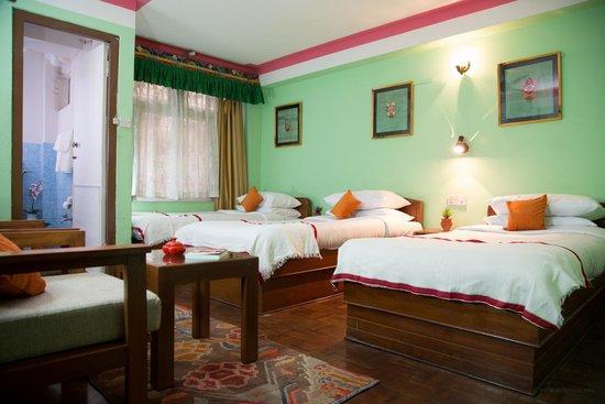 Hotel Utse: Triple bed room