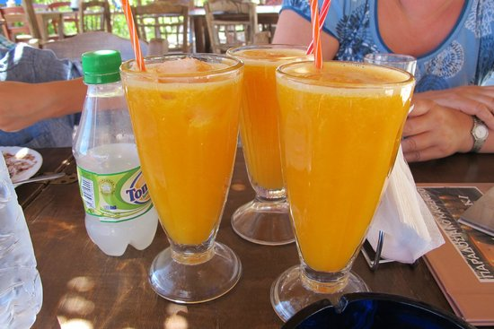 Chania, Grekland: Fresh juice