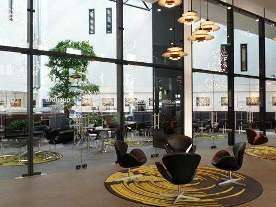 Wakeup Copenhagen Carsten Niebuhrs Gade: lounge