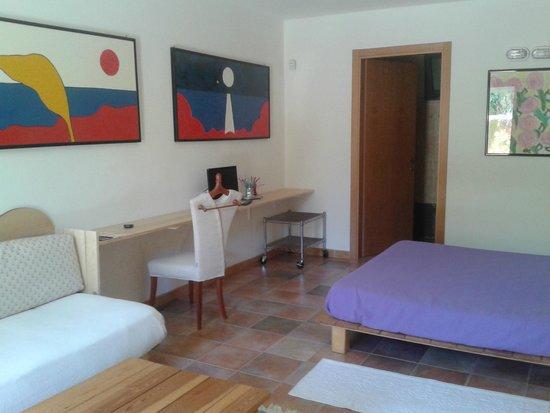 Camera letto matrimoniale e letto singolo - Foto di Il Locandiere ...