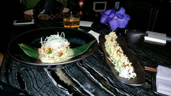 The St. Regis Bal Harbour Resort: Ceviche & sushi