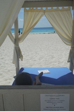 Omni Cancun Resort & Villas: Cabana