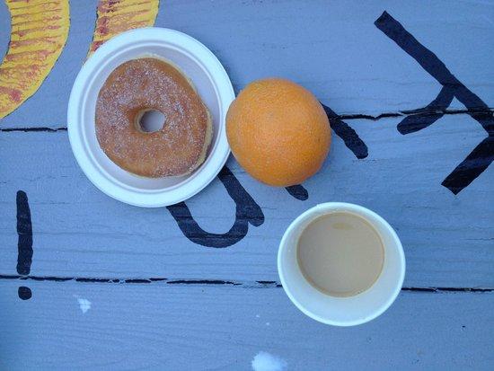 Old Town Inn: breakfast