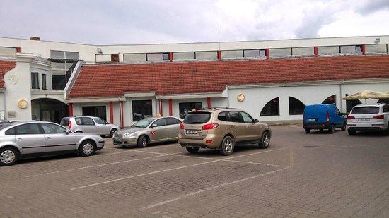 Hotel Braavo: вид
