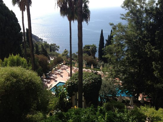Hotel Villa Belvedere : pool view