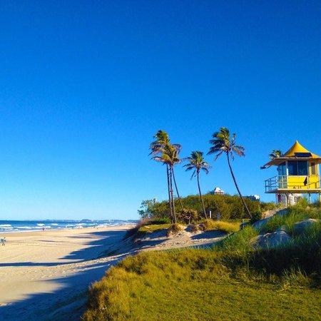 Sheraton Grand Mirage Resort, Gold Coast: Beautiful beach