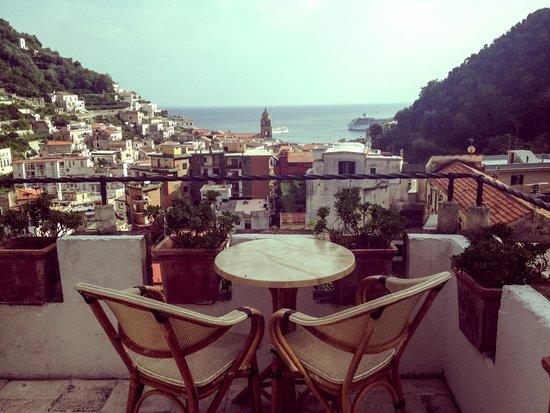 Villa Lara: view from the common balcony