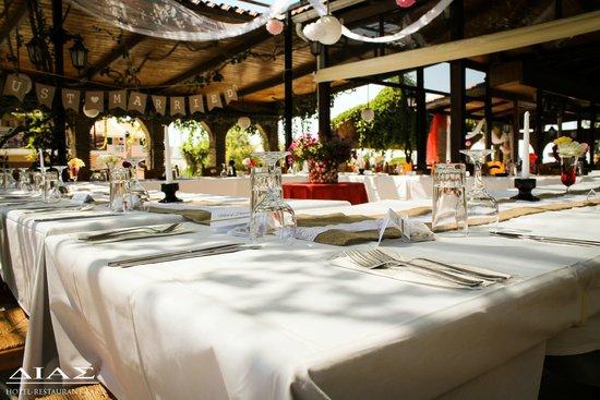 Dias Studios & Apartments: restaurant