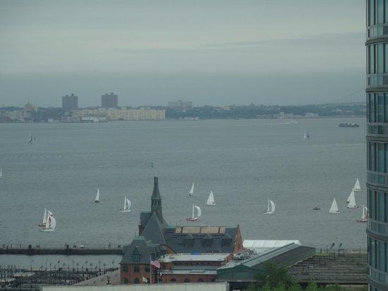 New York Harbor : Hudson
